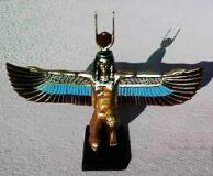 Statuette of Isis with Wings
